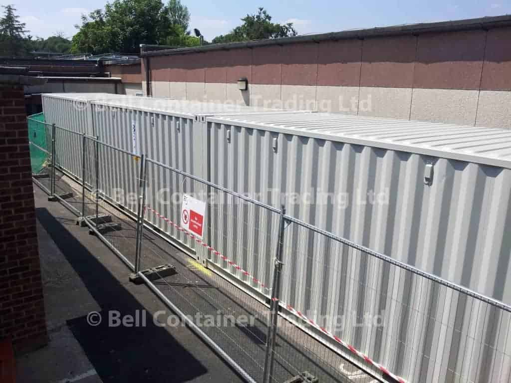 20ft tunnel container project