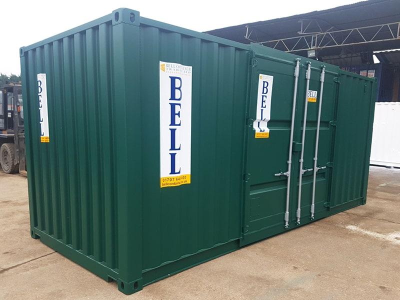 20ft x 8ft container wiht original retro fit container doors