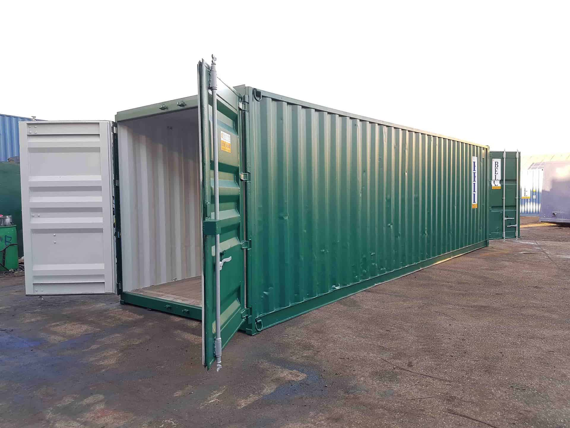 30 x 8 tunnel container ext side profile