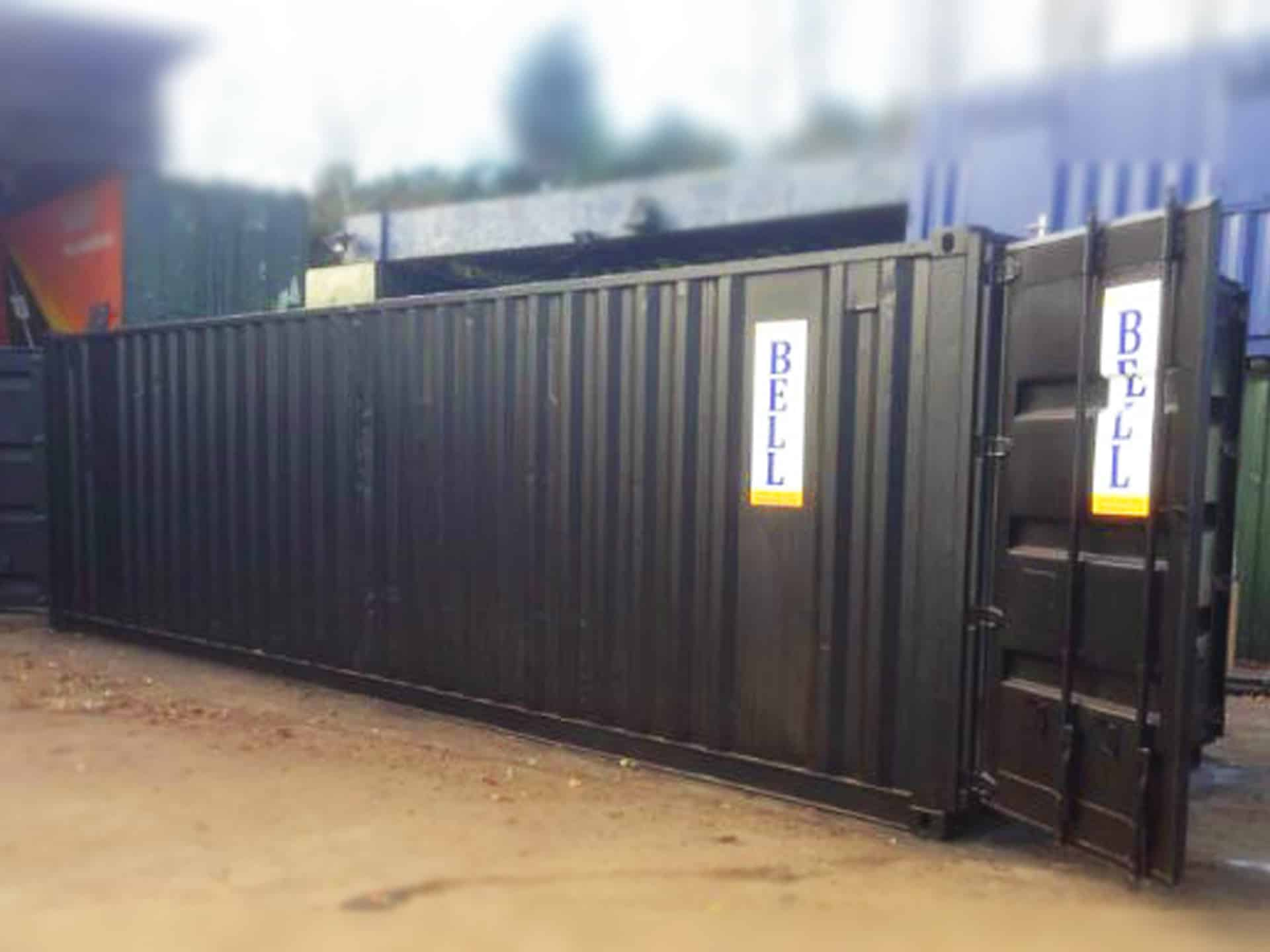 30ft storage container sales fleet