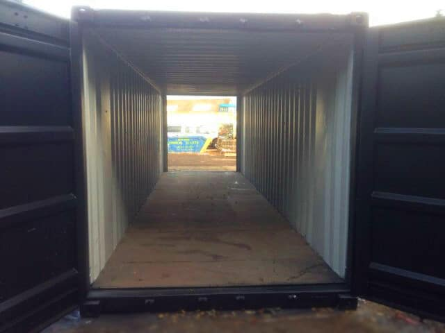 30ft tunnel container storage unit
