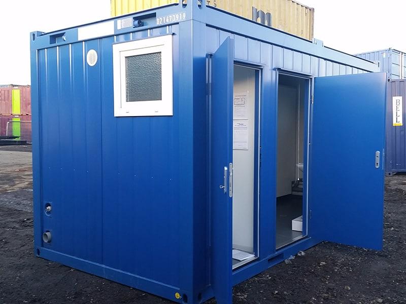 3+1 toilet block external
