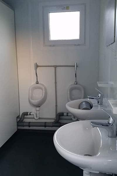 3+1 toilet block internal male