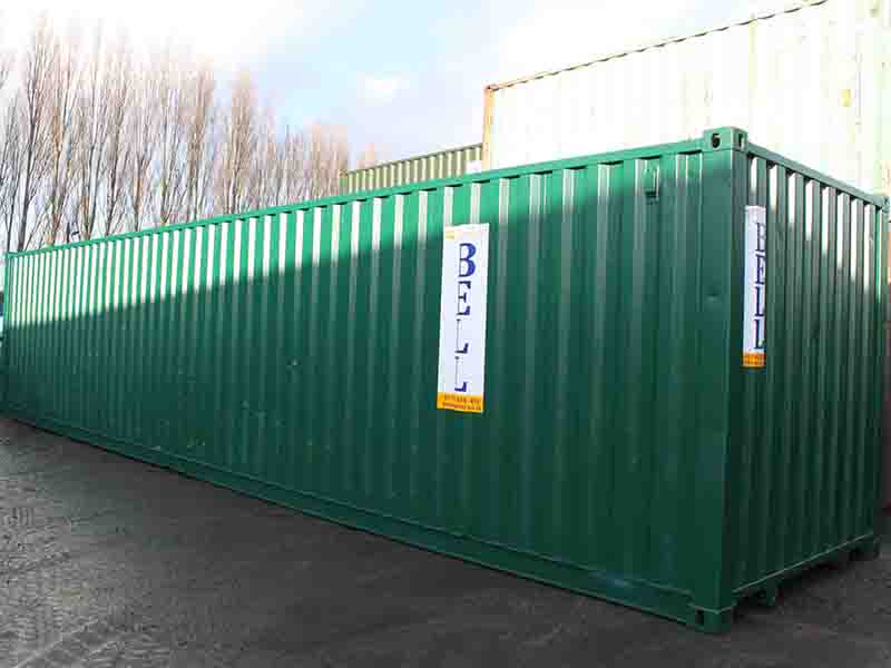 40ft container from our domestic hire fleet