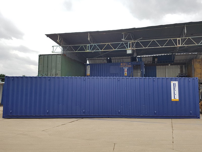 40ft containers for sale storage site solution from London depot