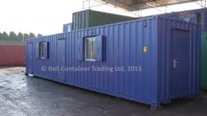 40ft shipping container changing room external