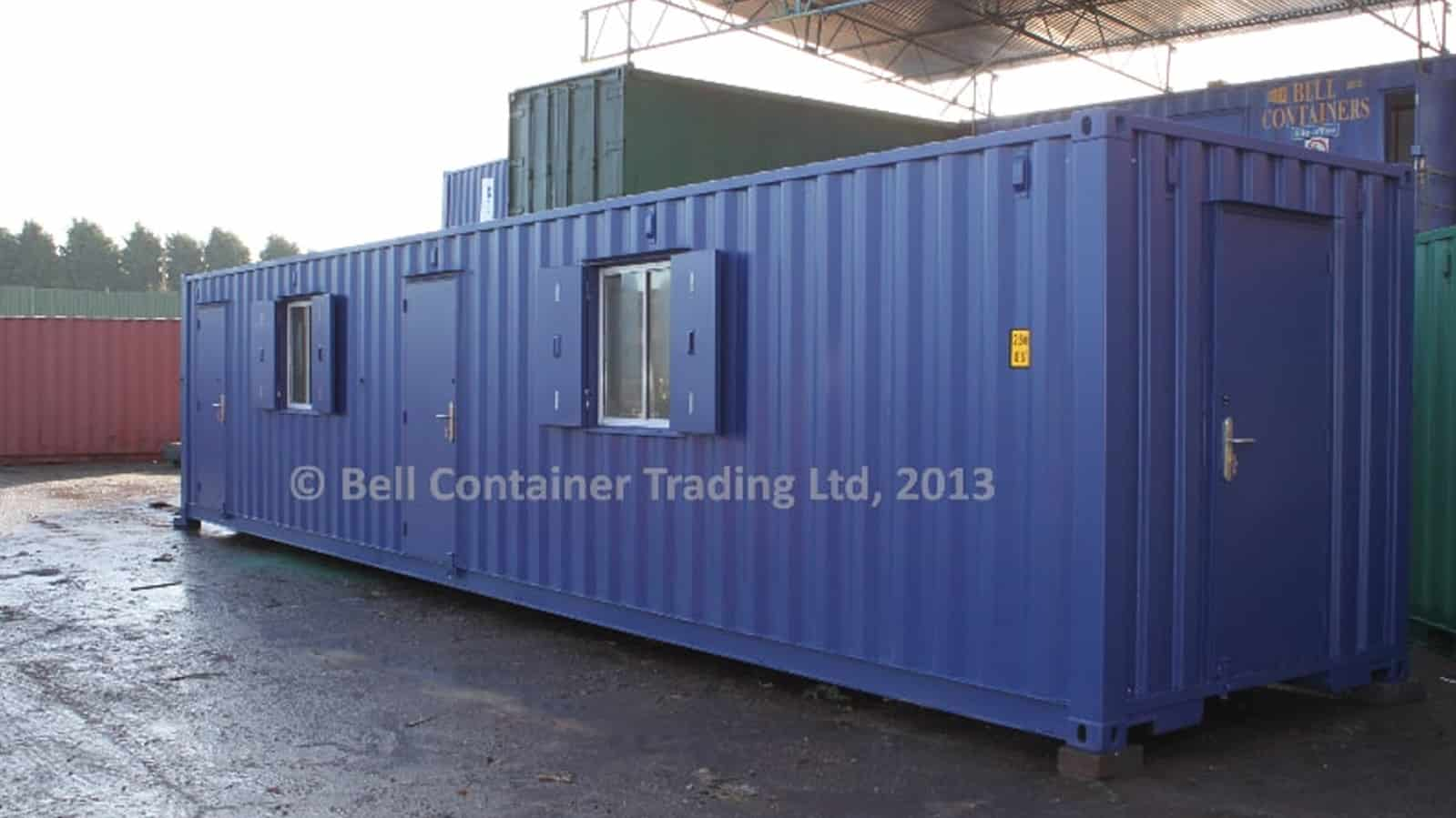 40ft container conversion (RAL 5013)