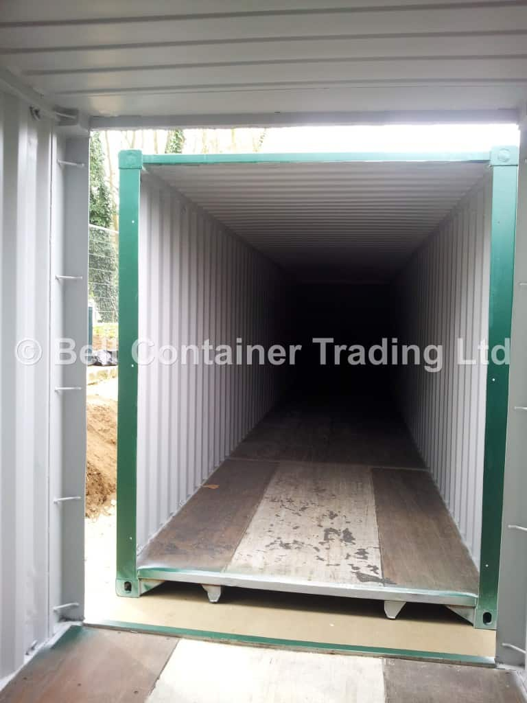 40ft shipping container tunnel conversion link