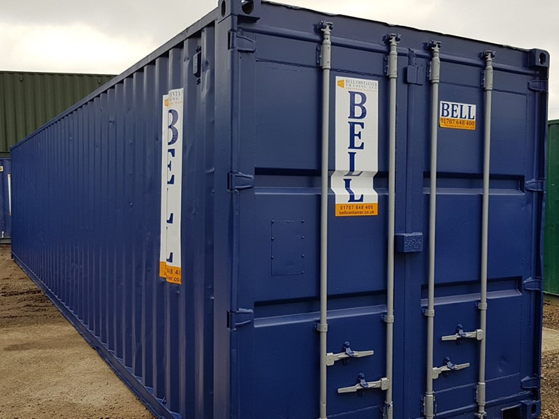 40ft storage container from our hire fleet Essex depot