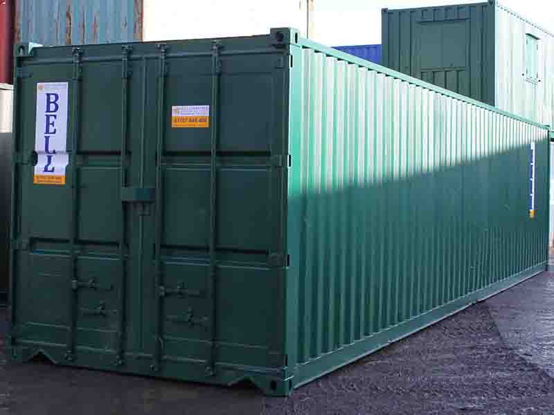 40ft storage container hire fleet unit Essex depot
