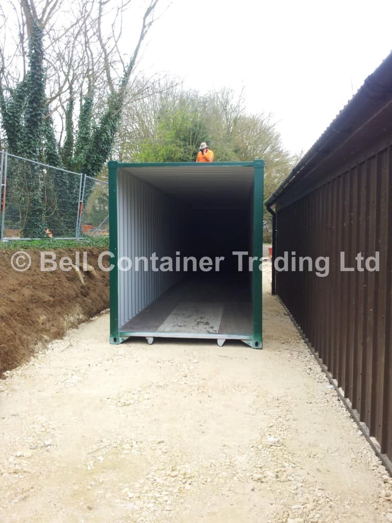 40ft tunnel container conversion delivery