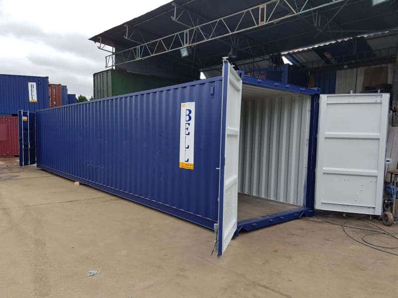 40ft tunnel container doors at each end 035