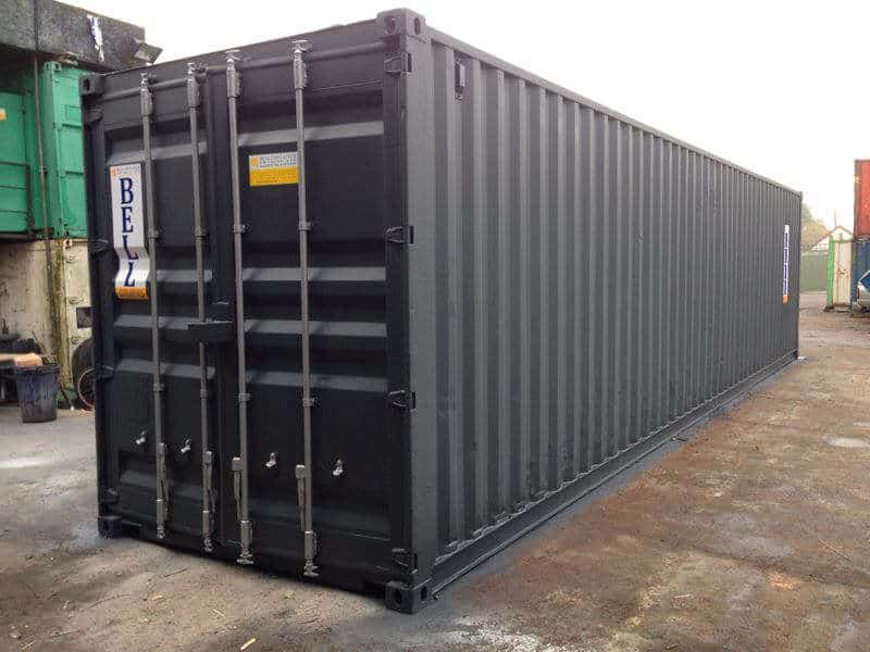 40ft steel storage container
