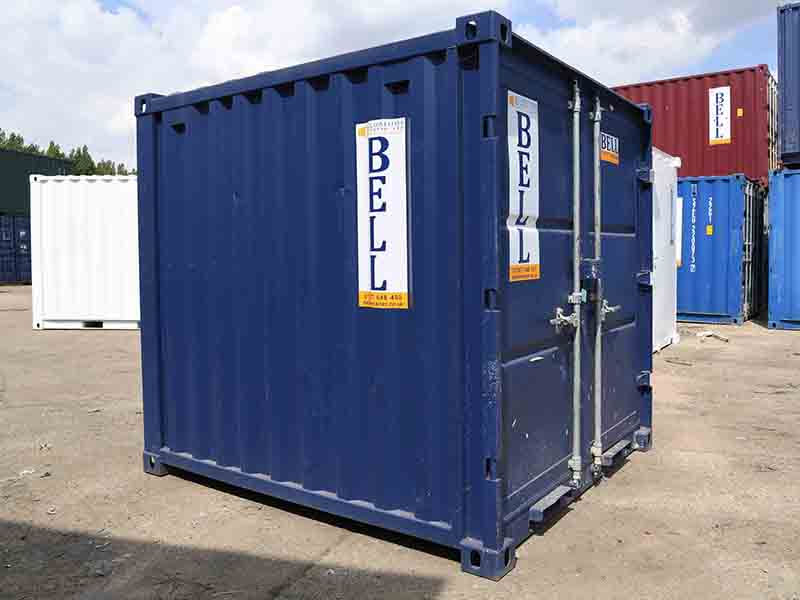 8ft x 7ft storage container hire and sales fleet