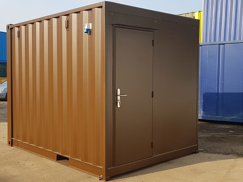 AEC 10x8 WS15 exterior profile corner closed