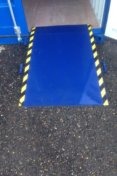Bell Container access ramp