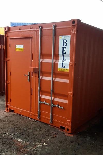 Bell Container integrated personnel door 20 x 8