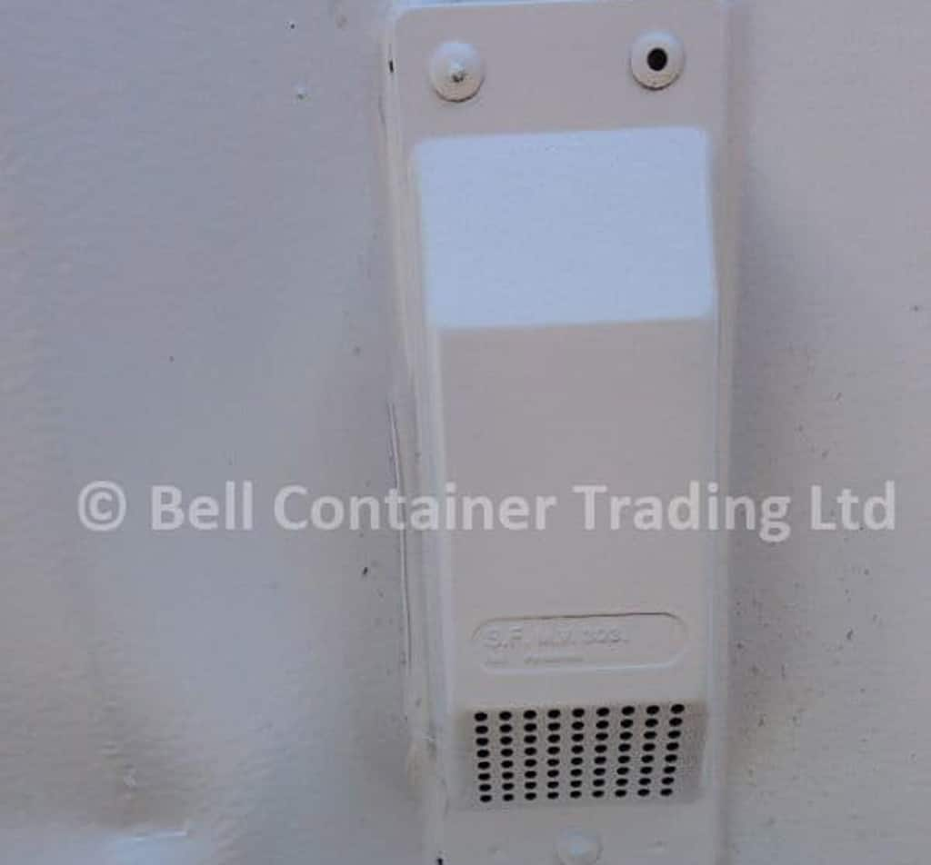 ISO shipping container vents custom installation