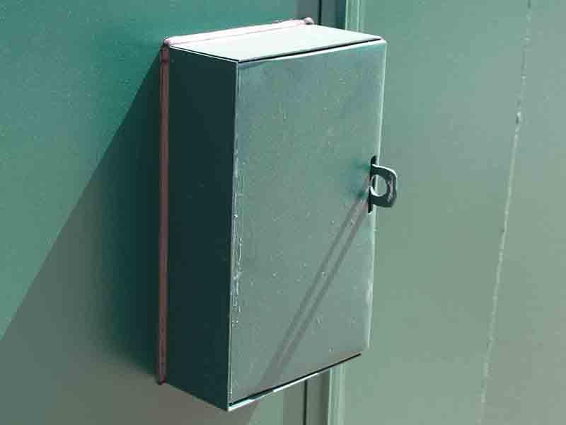 additional lock box example closed