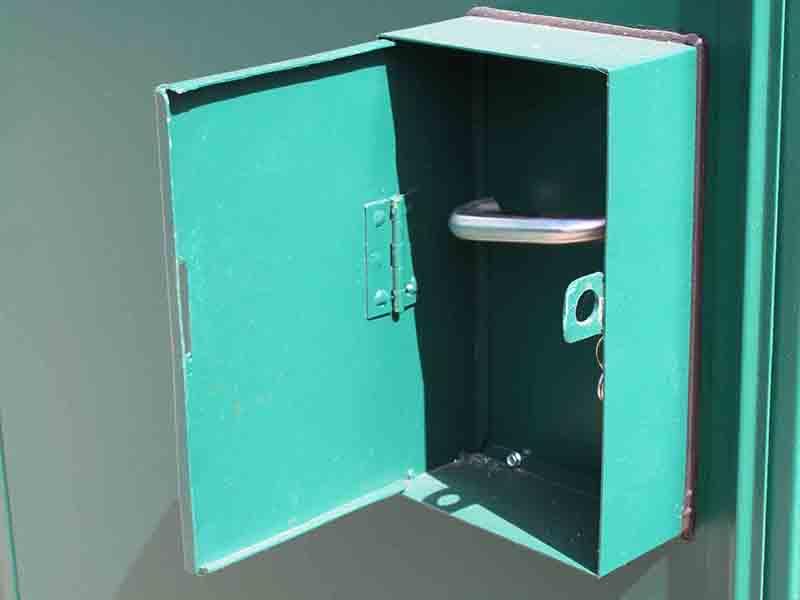additional lock box example open bespoke