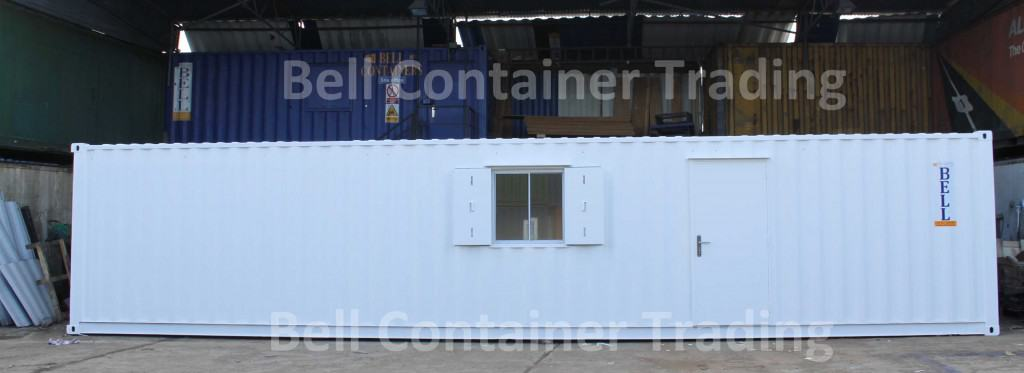 bespoke 40 x 8 office container
