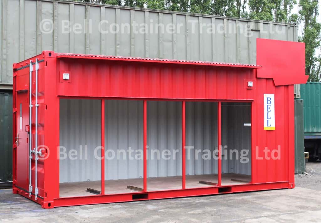 modified shipping container - bespoke conversions