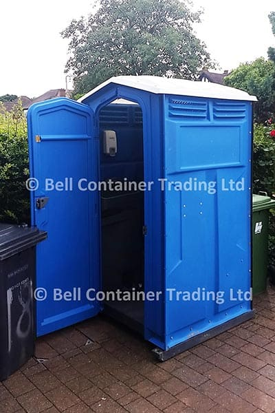 chemical single mains toilet for hire London fleet