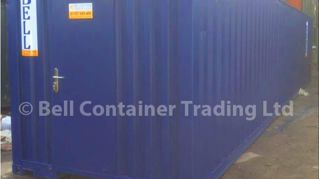 container conversion 40ft lined storage unit