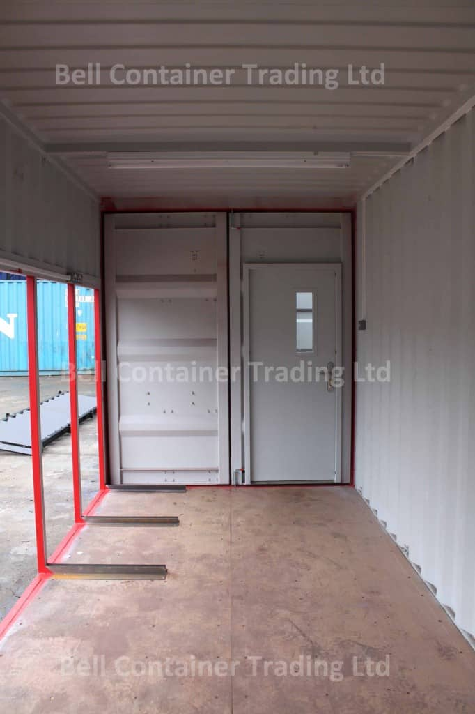 container conversion bespoke modification internal