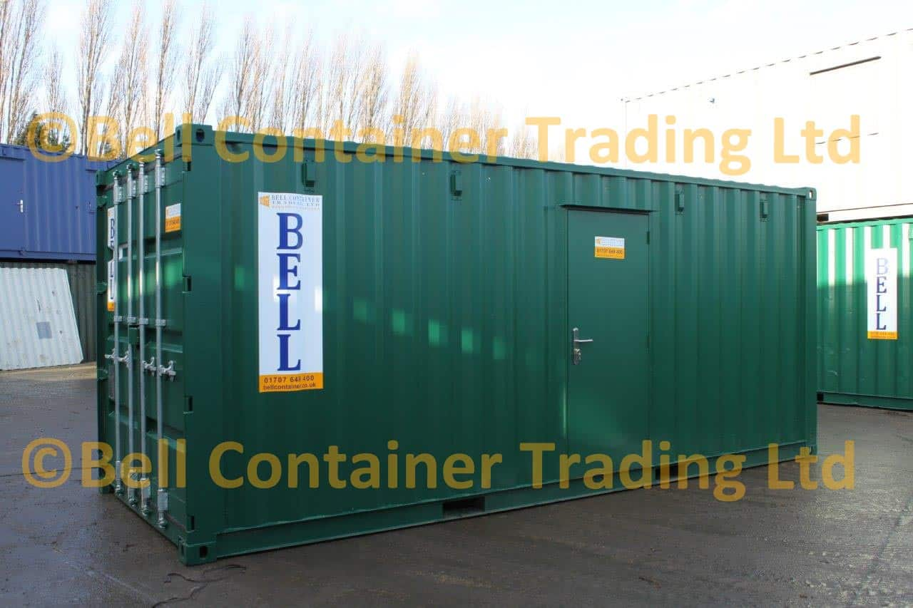 container conversions 20ft storage unit