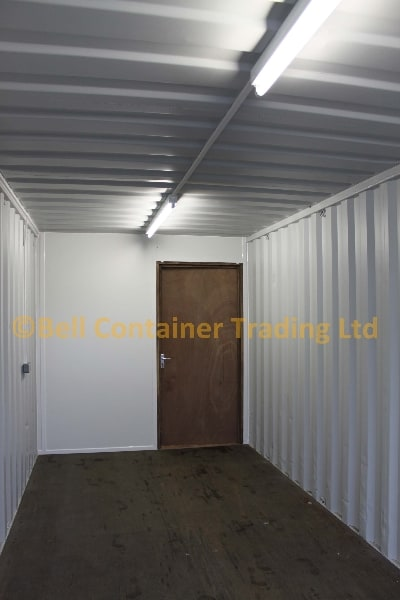 container conversions 40ft unit storage section