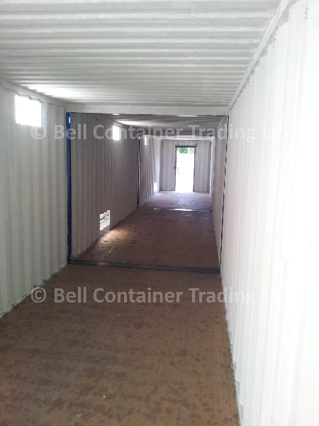 container conversions clinical storage tunnel