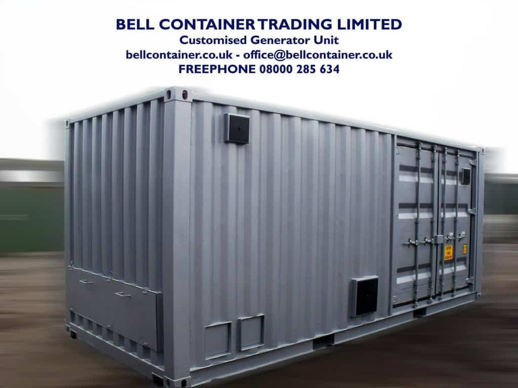 container conversions generator