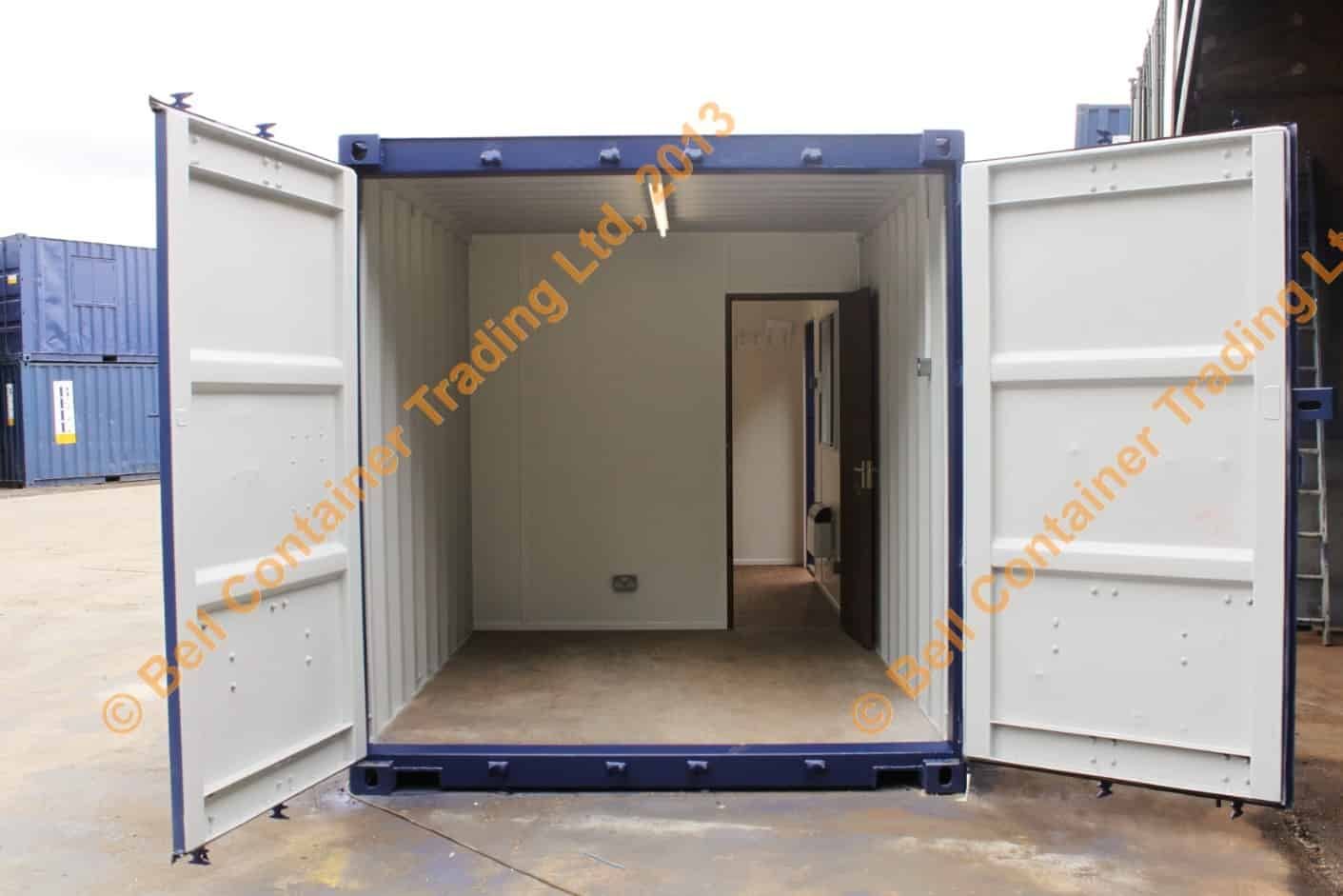 container conversions interior shipping box