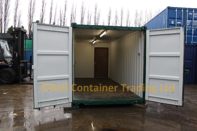 container conversions storage 20ft section