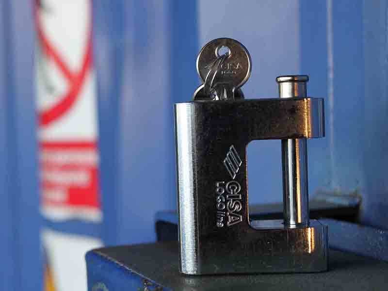 container padlock inc. keys