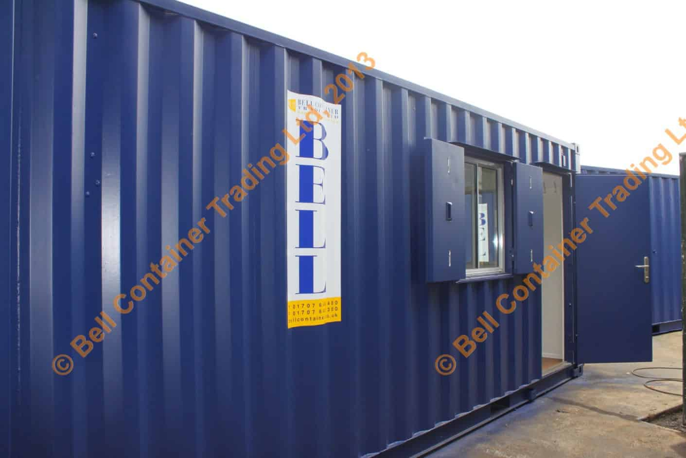 office container conversions storage combined unit