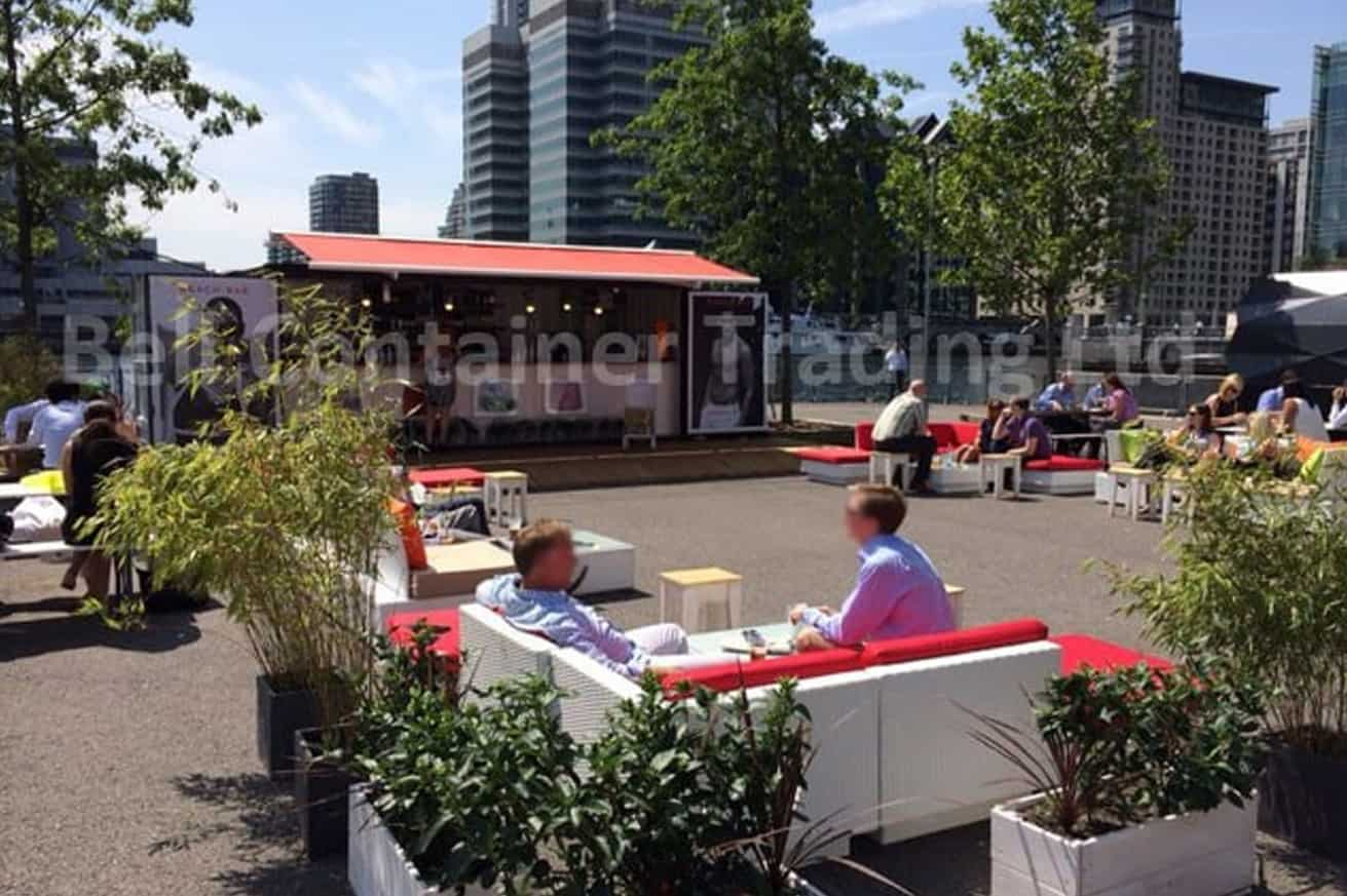 popup container bar London 20ft