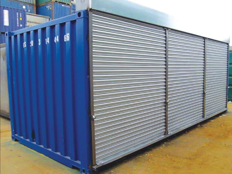 roller shutters self storage 20ft