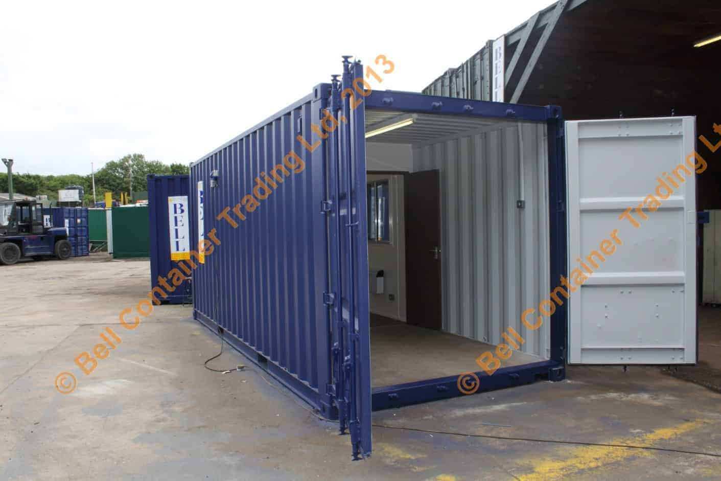 shipping container conversions office unit