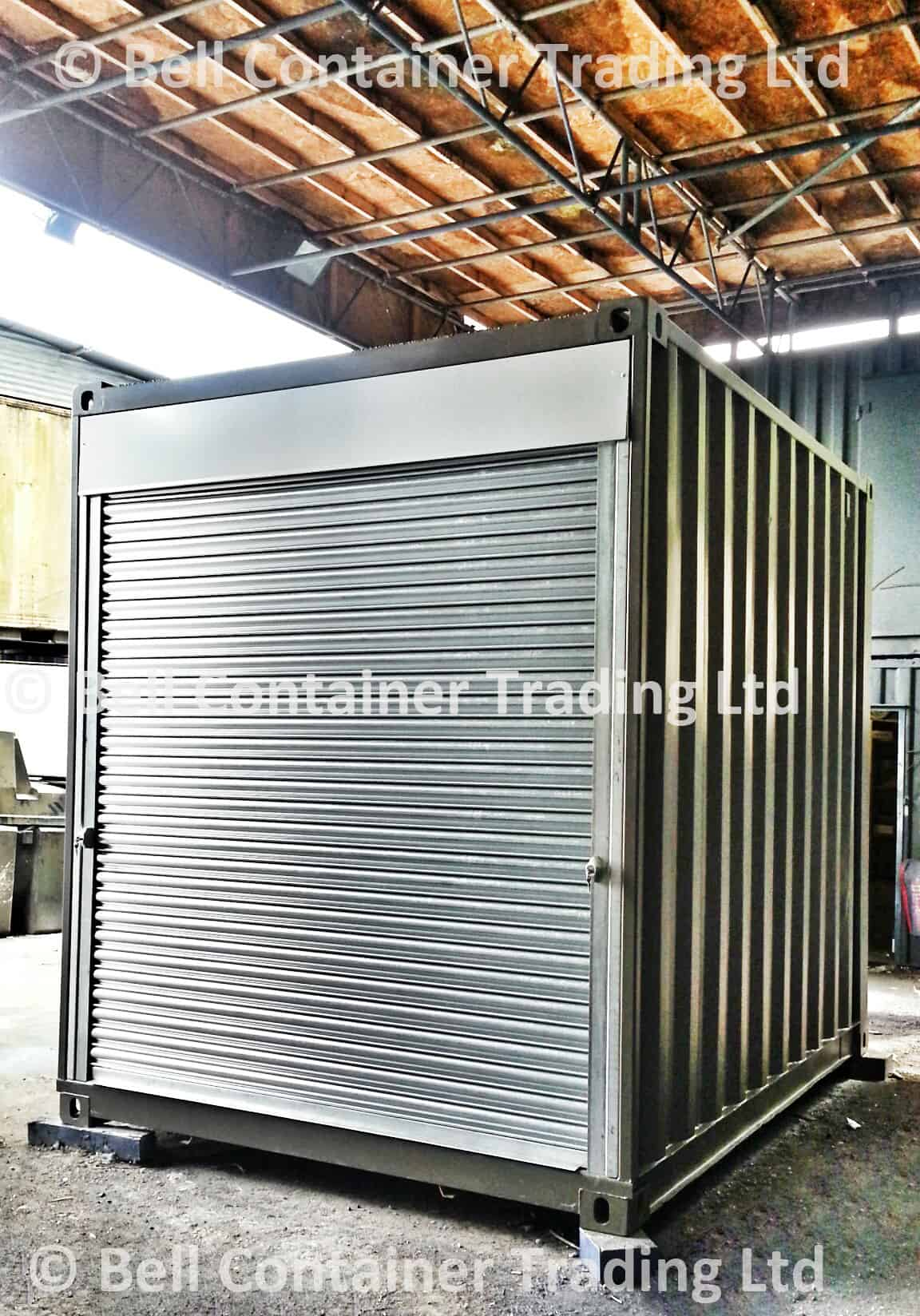 shipping container popup shops 10ft market unit London