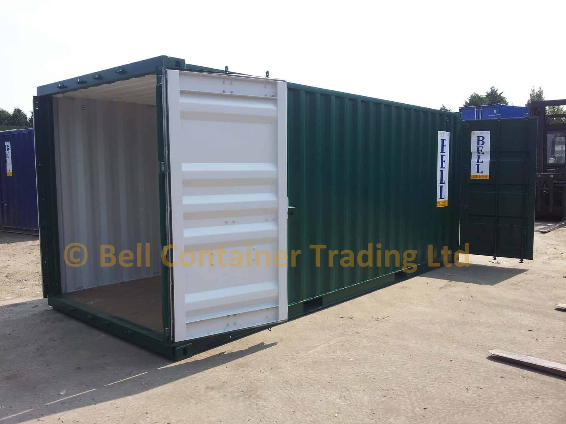 shipping container tunnel new 20ft London depot