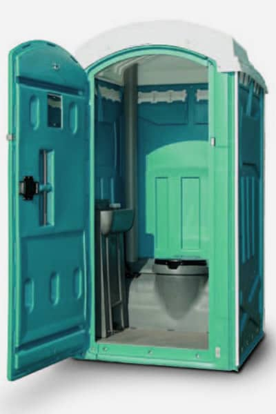 standalone portable toilet single mains or chemical