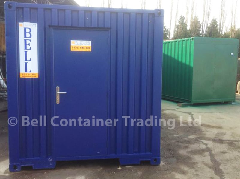 personnel container doors - single access