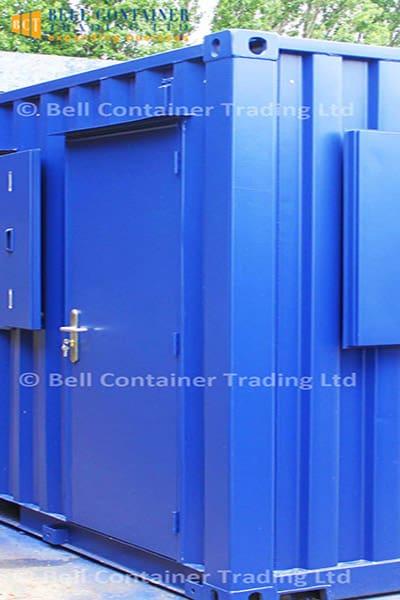 steel personnel container door