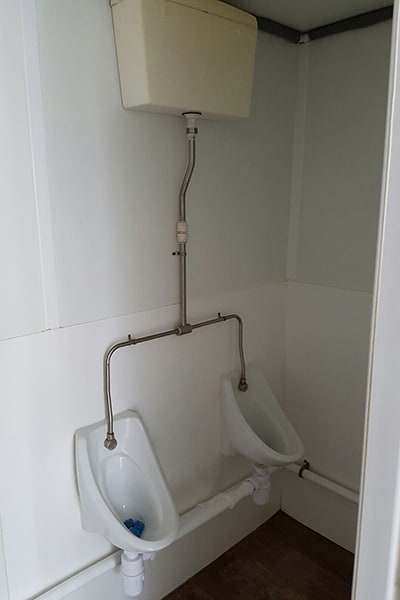 Single urinal