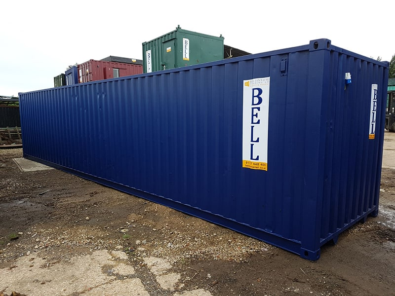 used 40ft container from hire fleet depot