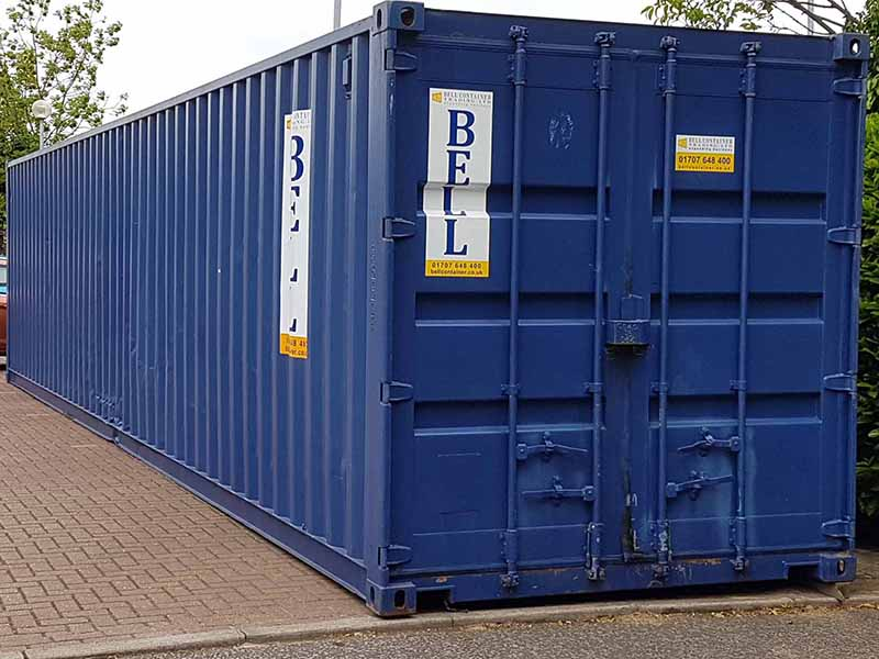Used 40ft shipping containers   Storage Containers Hire ...