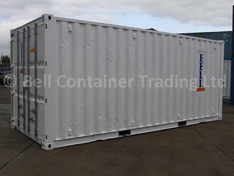 GOOD QUALITY USED ISO STEEL CONTAINERS UNPAINTED