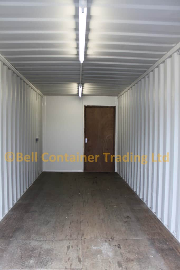 workshop container 40ft conversion